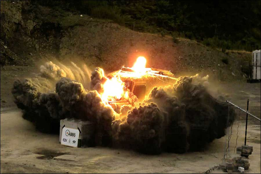ABBS-anti-IED-explosive-test