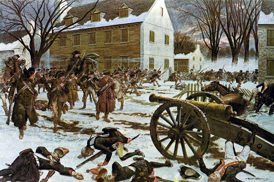 Battle-of-Trenton-George-Washington