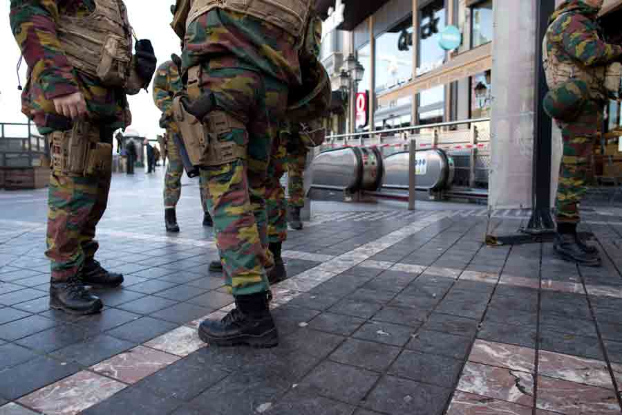 Belgium-Army-terrorist-attacks