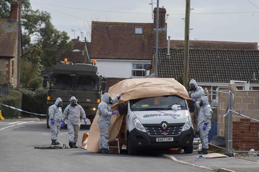 CBRN and chemical weapon attacks