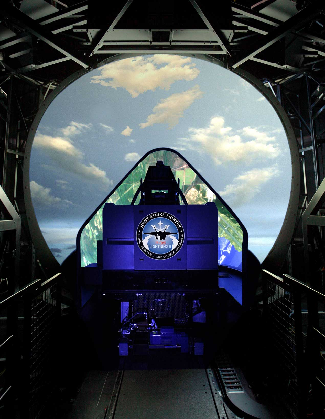 F 35 Full Mission Simulator
