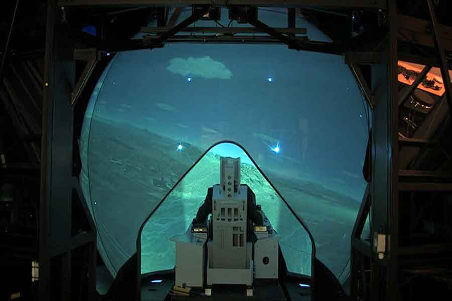 Rockwell-Collins-Griffin-Dome-F-35-Simulation