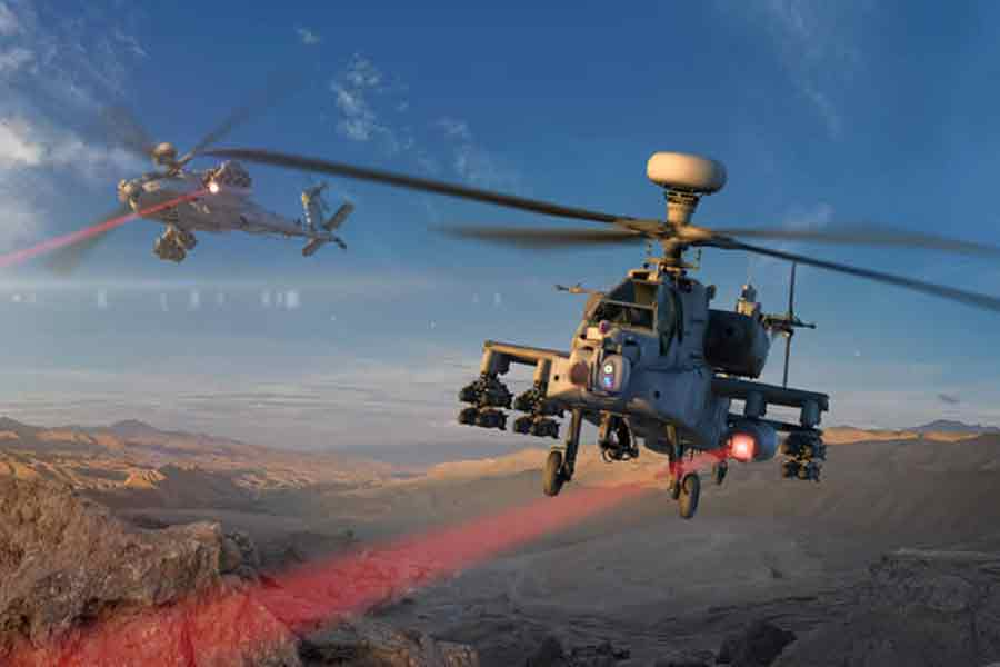 Raytheon-high-energy-laser