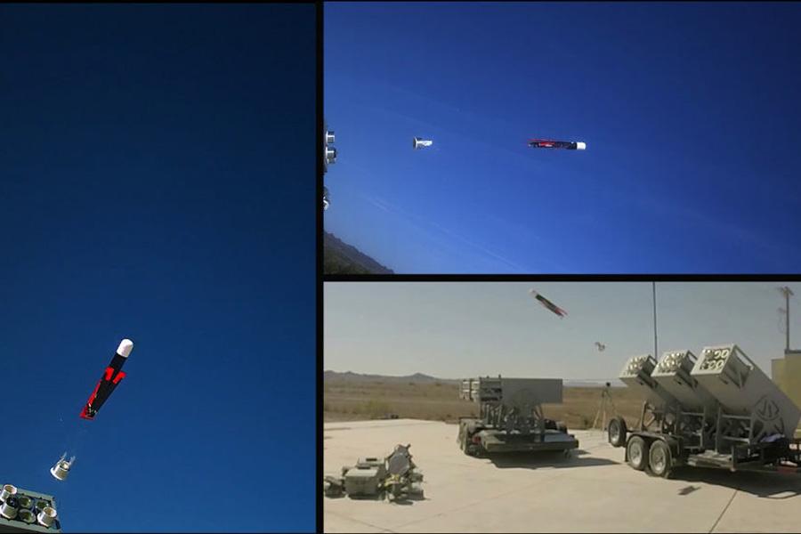 Low Cost UAV Swarming Technology LOCUST