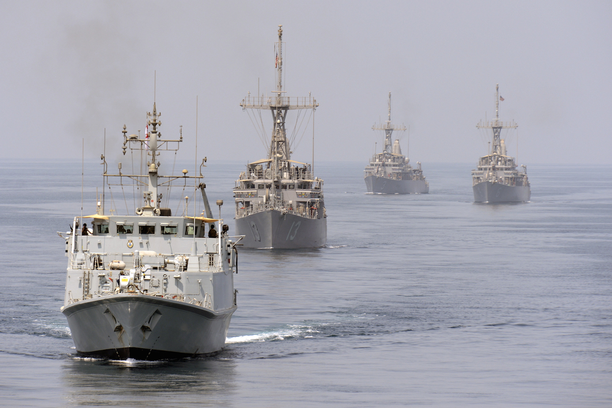 Mine-countermeasures-vessels