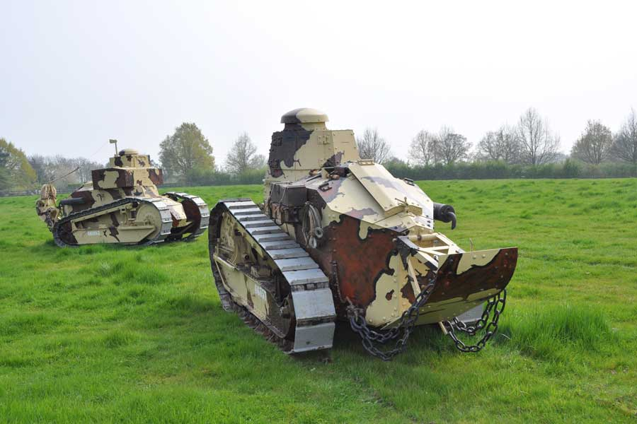 Renault-tanks-The-Weald-Foundation-Militracks