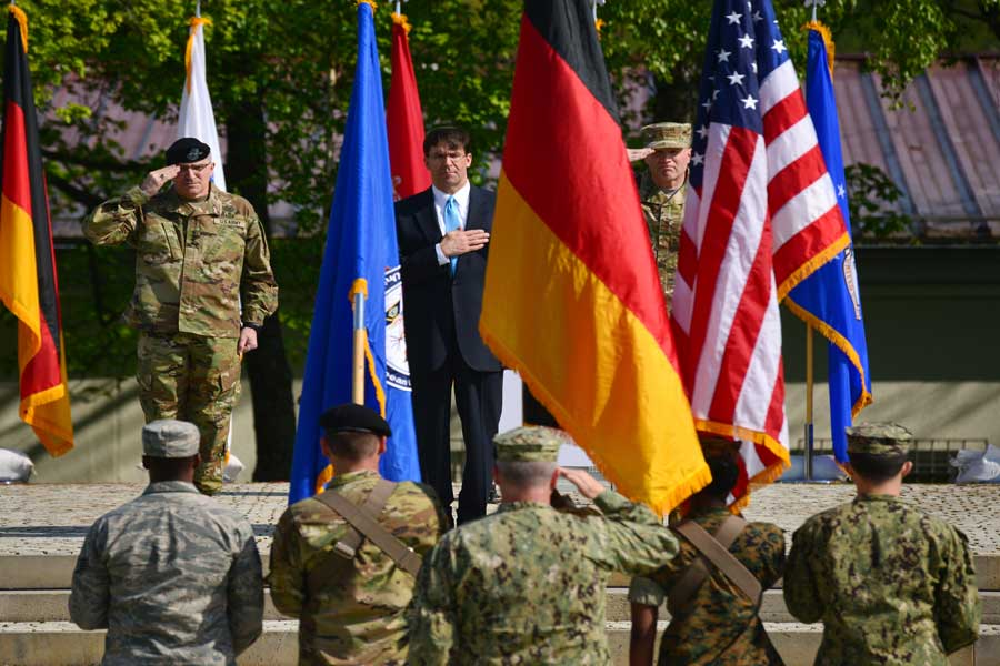 US-troops-withdraw-from-Germany-Defence-procurement