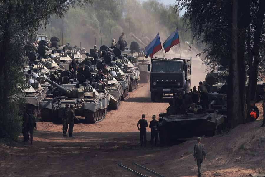 Zapad-2017-Russian-tanks