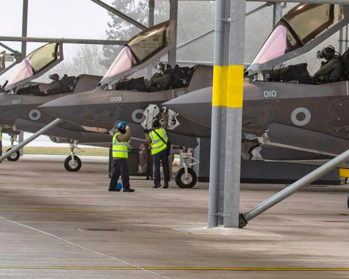 RAF-F-35-aircraft-leave-for-Exercise-Red-Flag