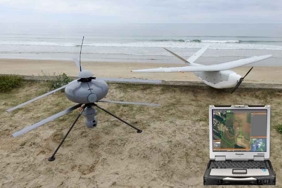 ECA-Multi-mission-Ground-Control-UAV-Station