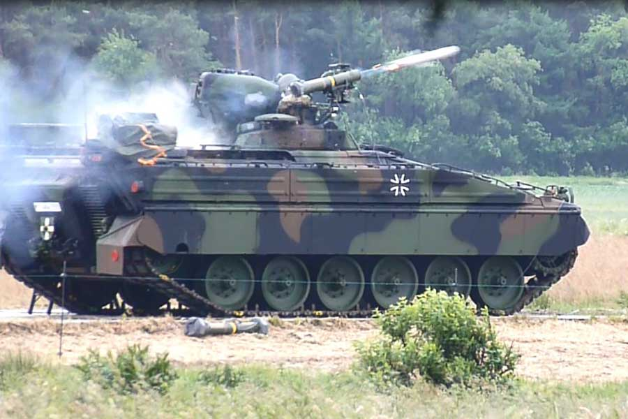 Marder-MELLS-anti-tank-guided-missile