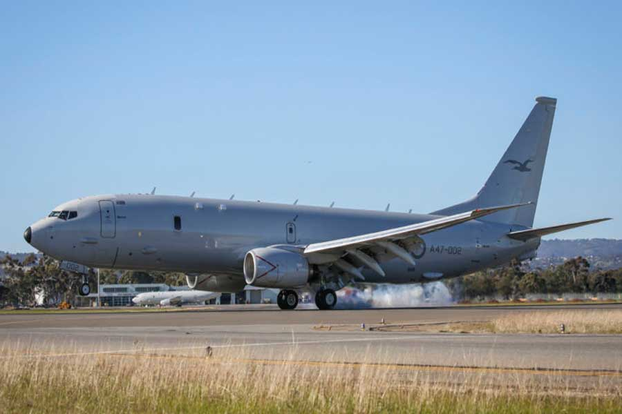 Poseidon-maritime-patrol-aircraft-Royal-Australian-Air-Force