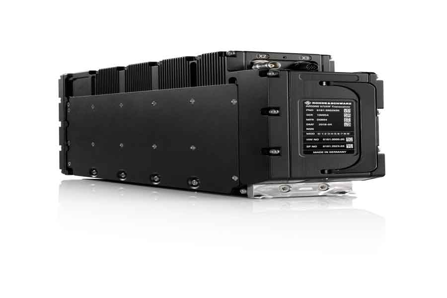 Rohde-and-Schwarz-software-defined-airborne-radio-ILA-Berlin