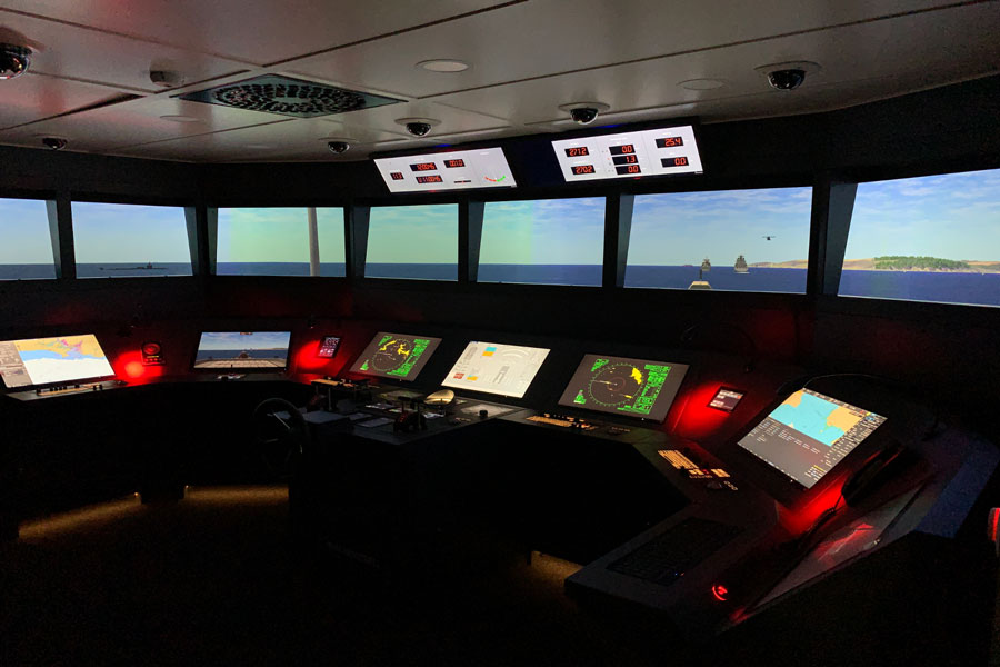Ship-bridge-simulator-Royal-Australian-Navy