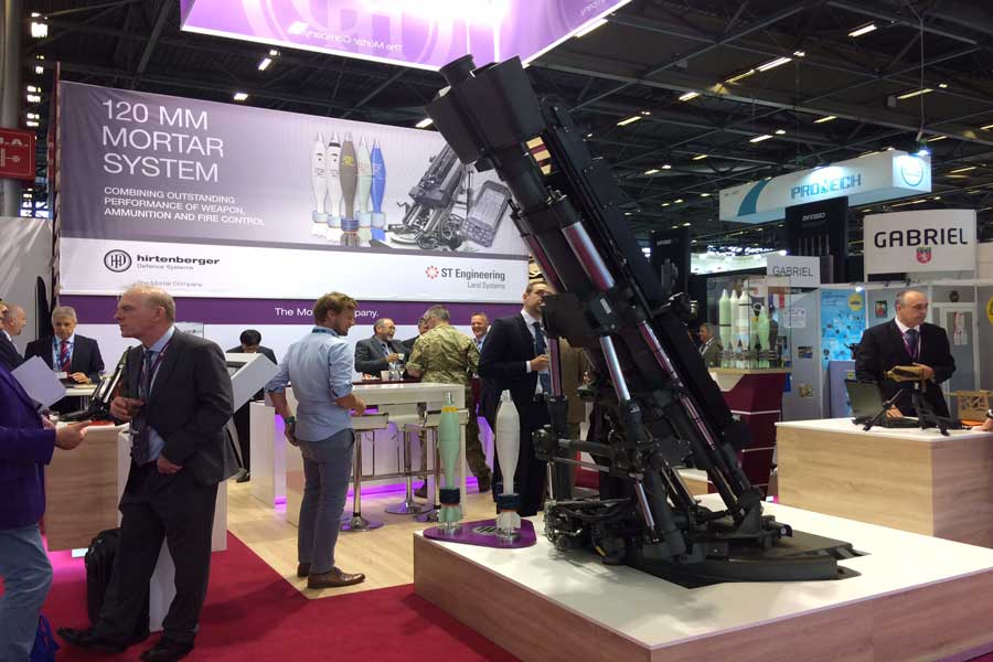 ST-Engineering-HDS-120-mm-mortar-systems