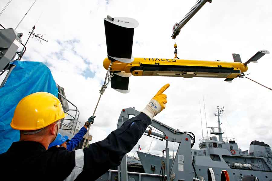 Thales-towed-synthetic-aperture-sonar