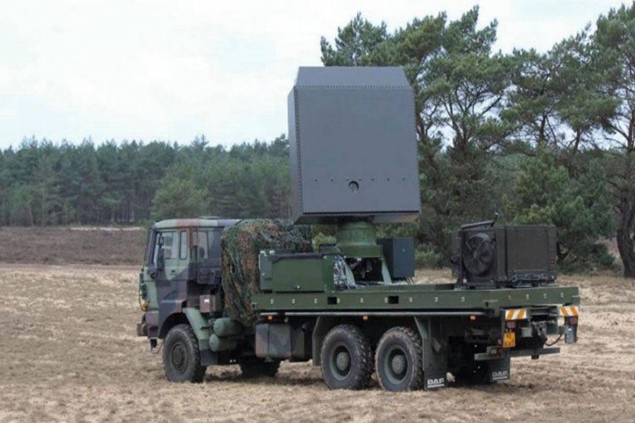 Multi-mission-radar-Thales-Netherlands-Army